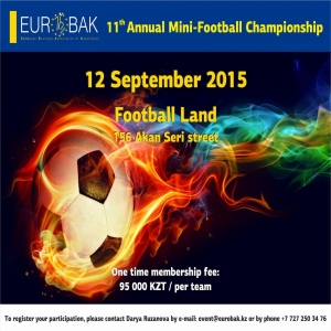 Event - EUROBAK Mini-Football Championship 2015