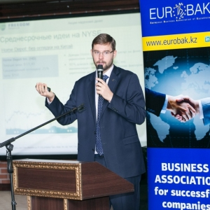 EUROBAK CFO Lunch With Mr Timur Turlov, On Current Economic And Financial Situation
