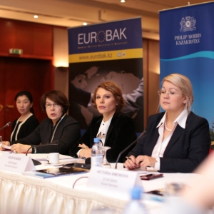 Round Table With Gulzhana Karagussova, Chairperson Of The Finance And Budget Committee Of Majilis Of RK
