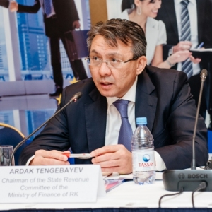 EUROBAK Round Table With Ardak Tengebayev, Chairman Of The State Revenue Committee