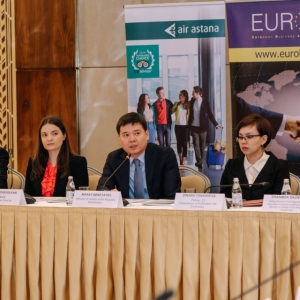Round Table With Marat Beketayev, Minister Of Justice of RK