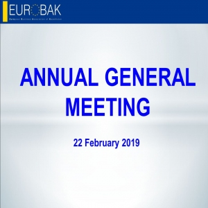 News - EUROBAK AGM 2019: financial and activity reports